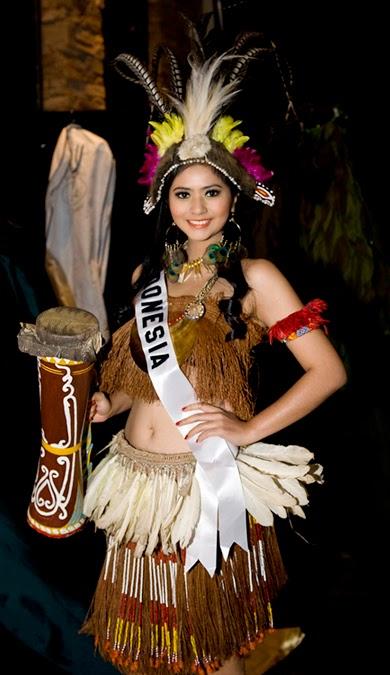 Pakaian Tradisional Budaya Tradisional Indonesia